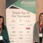 Ashleigh Kades and Katy Smith glimpsed the future at Healthcare of Tomorrow